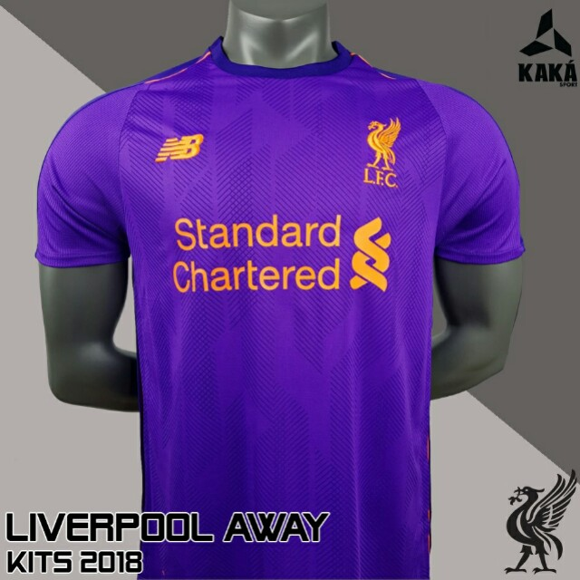 size 40 bc2d0 2ad49 Liverpool 2018/2019 Away Kit