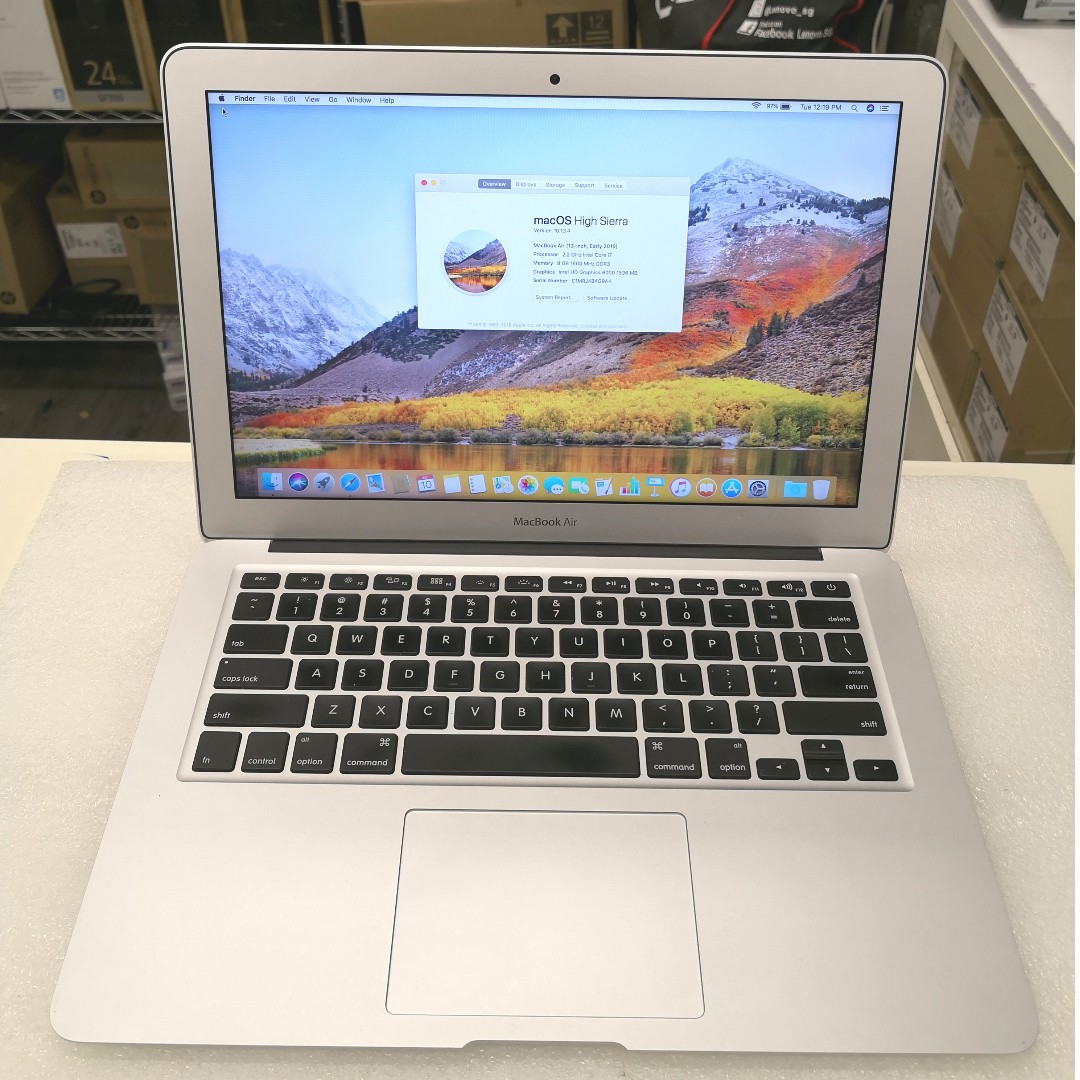 Macbook Air 13 Inch Early 2015 A1466 Electronics Computers