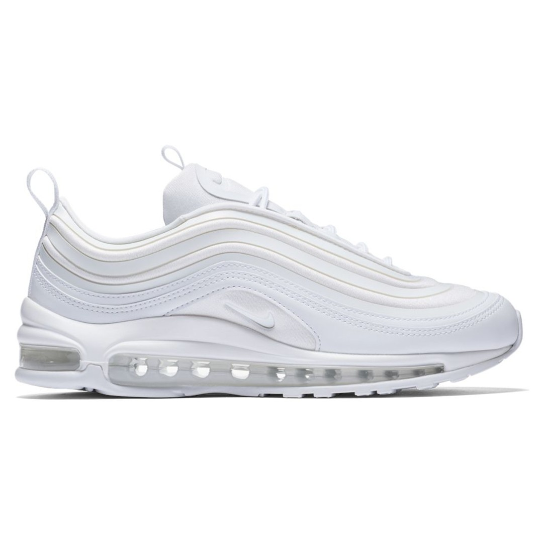 Nike Air Max 97 Ultra 17 Triple White (W), Women s Fashion, Shoes, Sneakers  on Carousell 863bbbc3b1