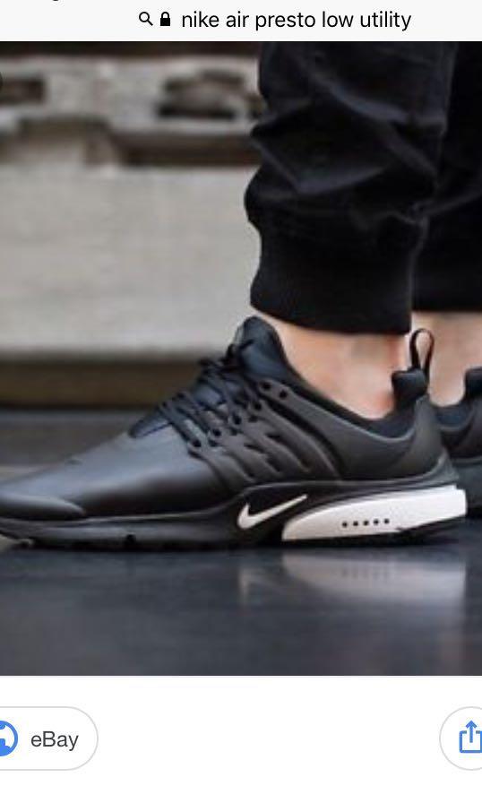 on sale 9d0fa ce252 ... low price nike air presto utility waterproof sneakers mens fashion  footwear 1b95f 81f57