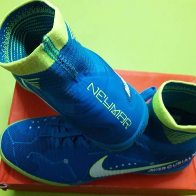 bb94ff832d241 Nike Mercurial Superfly V SX Neymar IC Indoor Football Shoes LIMITED  EDITION (Kasut Futsal), Sports, Other on Carousell