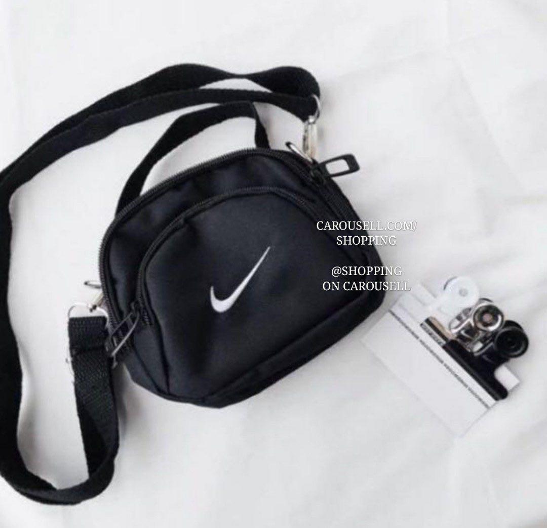 Nike Swoosh Embroidered Crossbody Sling Bag Women S Fashion Bags Wallets On Carou