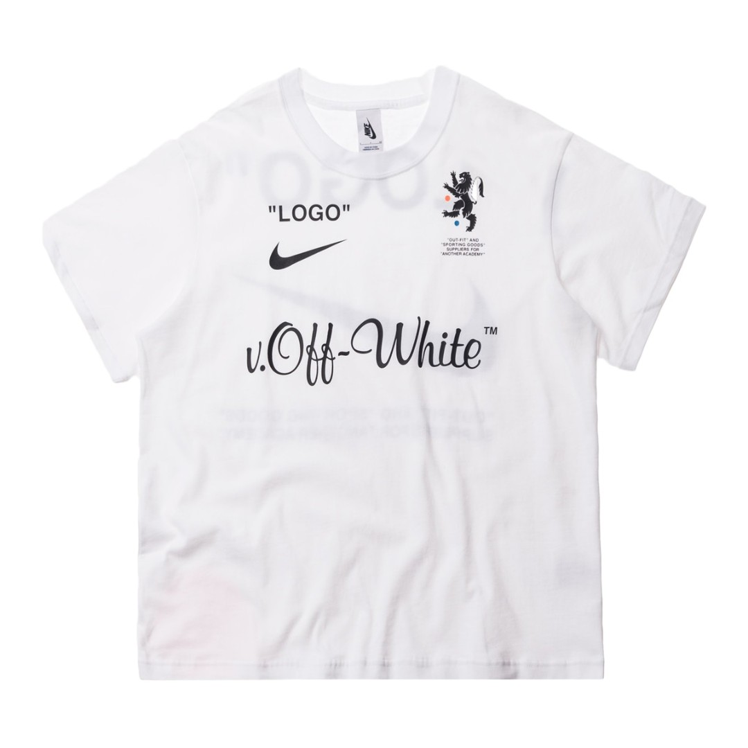 6a275e58 Nikelab x OFF-WHITE Mercurial NRG X Tee White, Men's Fashion ...