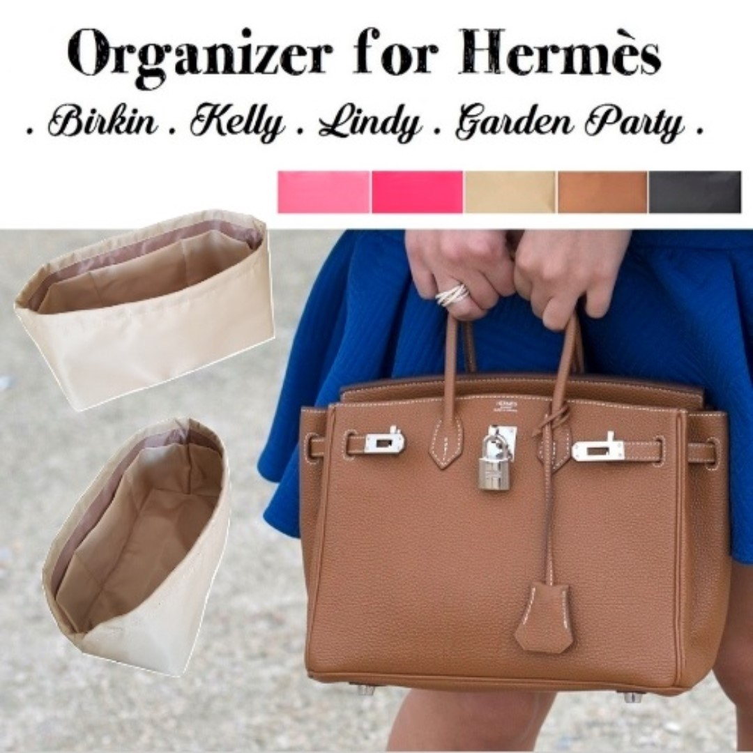 3f18a732f01 Purse Liner for Hermès Birkin Kelly Garden Party and Lindy