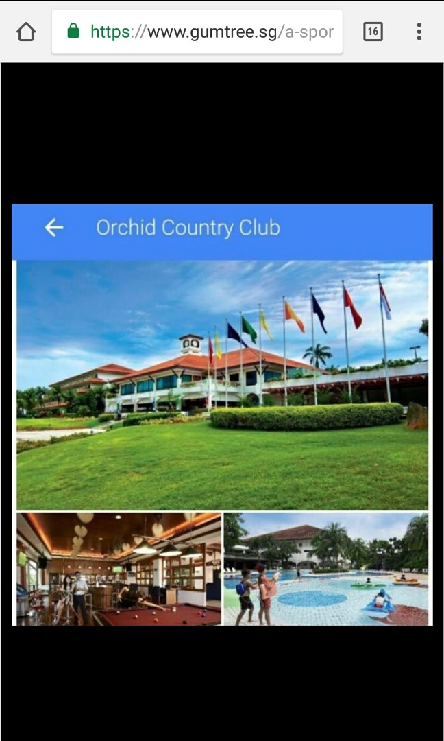 794d4cebbd7 Occ Gold Category Family golf membership. Price Includes transfer ...