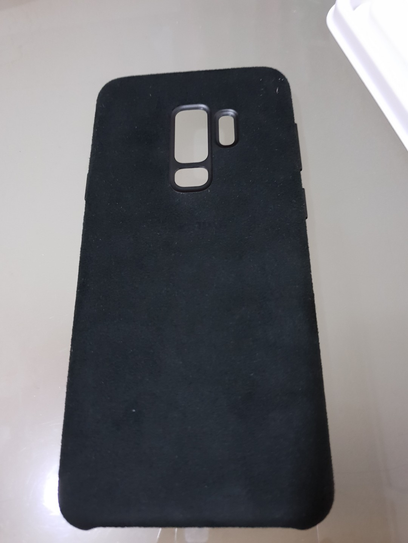 buy online 3fbcf 654fd Original Samsung Galaxy S9+ Alcantara Cover