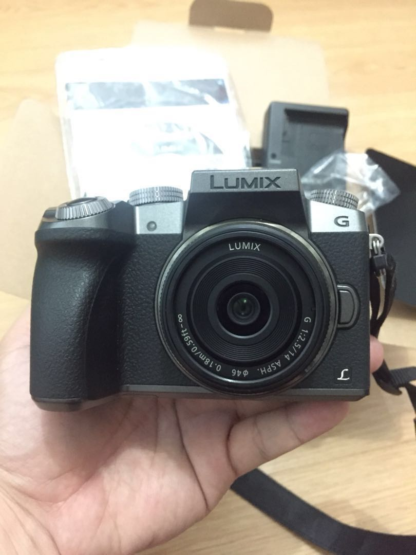 Panasonic Lumix G7 With 14mm F25 Micro Four Thirds Photography Meike 50mm F2 Lens For Mft Third Mirrorless On Carousell