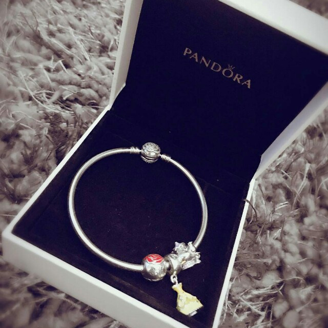 05702b425 Pandora Bangle Beauty and The beast, Women's Fashion, Jewellery on ...
