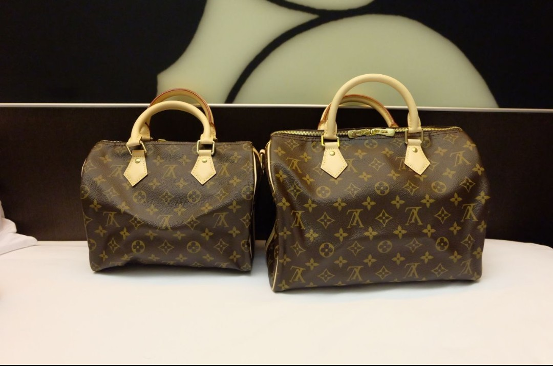 fb2640c1a432 Preorder Authentic Louis Vuitton (LV) Speedy and Speedy Bandouliere ...