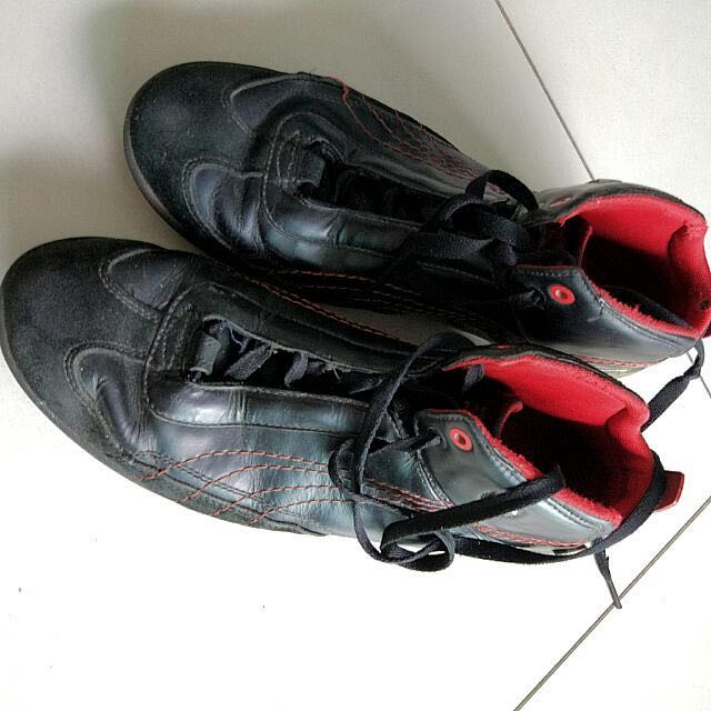 35fc14bfd05 Puma Ferrari Leather Shoes with carbon fiber
