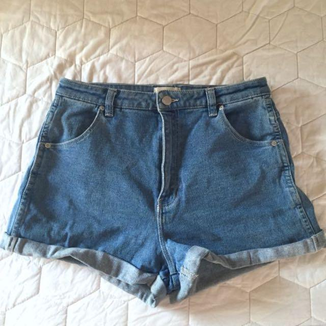 """Rollas """" dusters """" high waisted shorts"""