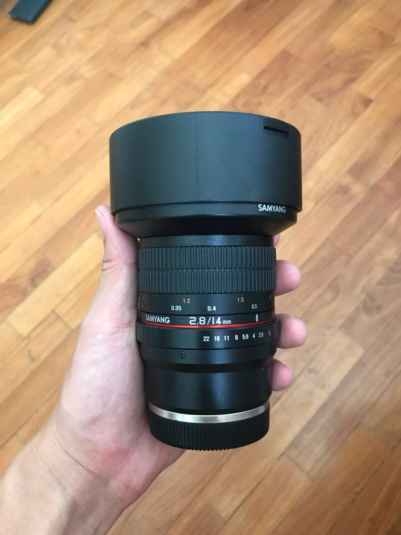 Samyang 14mm f2 8 Sony E-mount