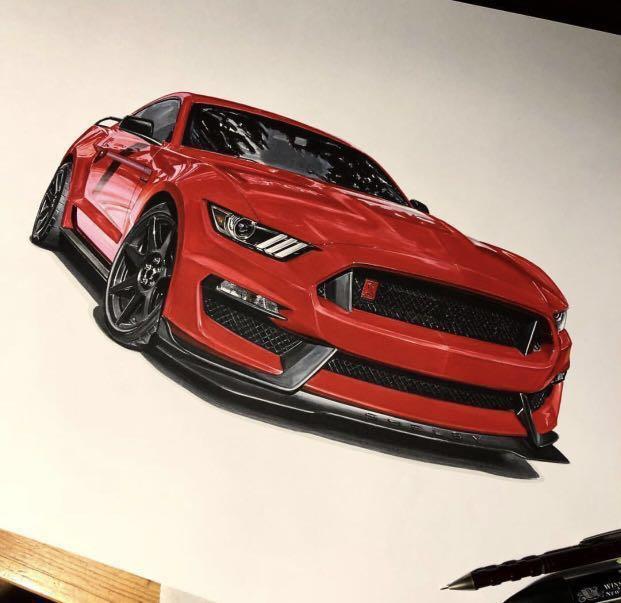 Super Car Drawing Art Photography Cameras Digital Cameras On