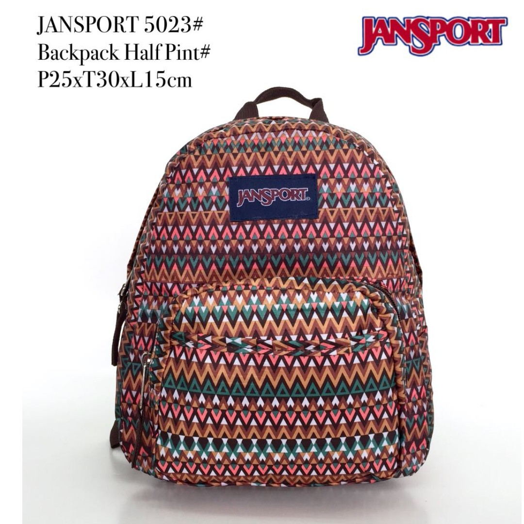 Tas Jansport Backpack Half Print 5023 - 28 2877b48175
