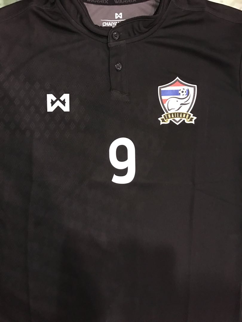 f0322df6d Thailand National Soccer Team Home Jersey 2017 Replica (Love the ...