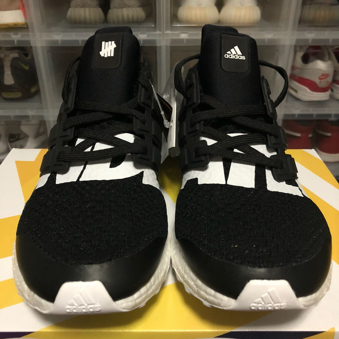 378e852bb94 US 10.5 Adidas Ultra Boost 1.0 UNDFTD Black Undefeated