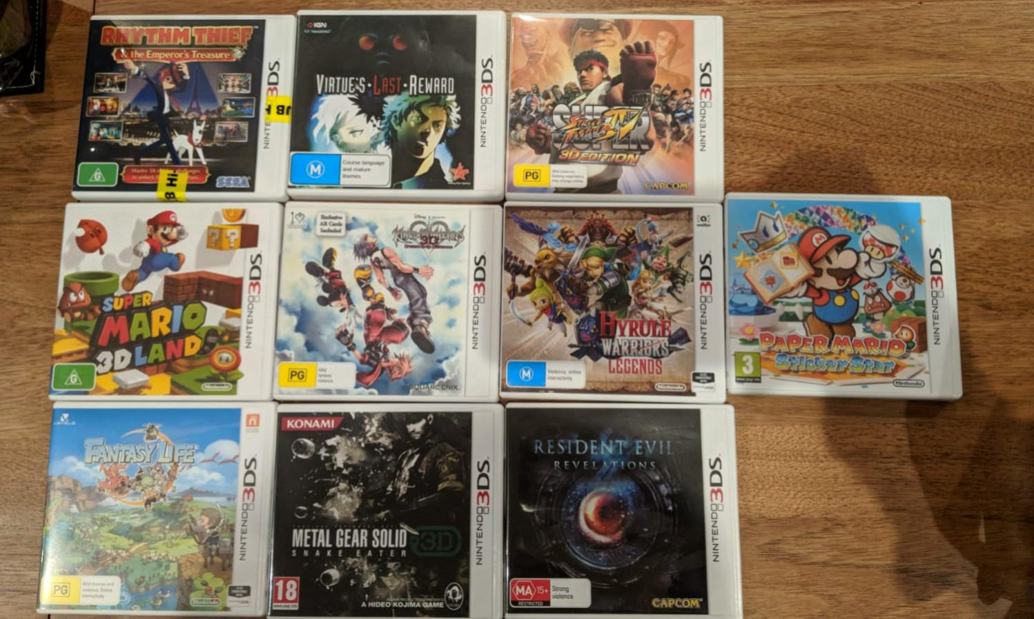 Various Nintendo 3DS Games! All in great working condition!