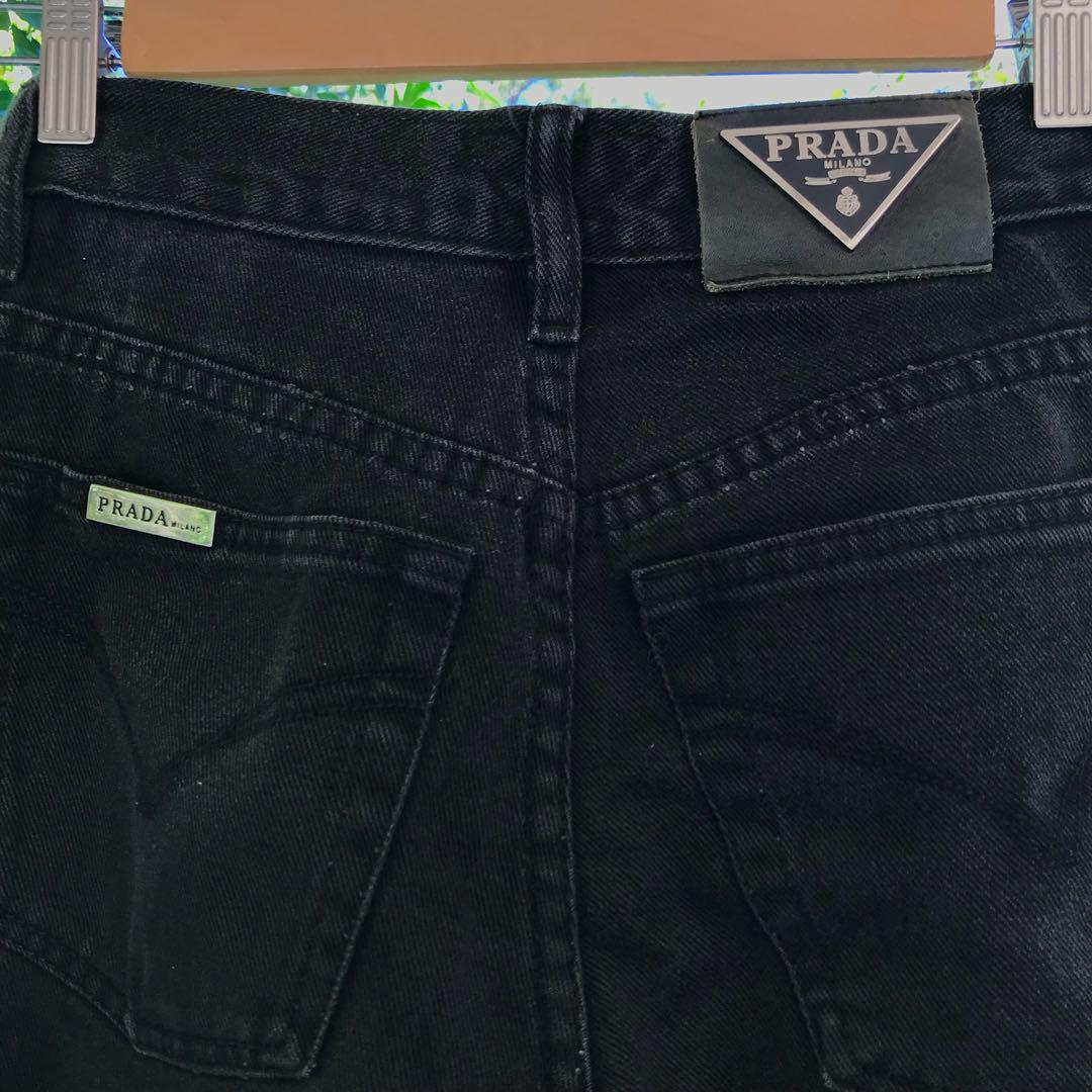 new products 502d8 990a1 Vintage Prada Jeans, Women's Fashion, Clothes on Carousell