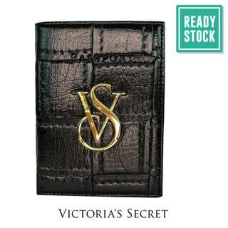 VICTORIA'S SECRET PASSPORT HOLDER (BLACK-QUILTED) *READY STOCK (VCHB-274)