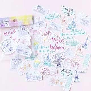 [Mo.Deco] Motivation Stickers