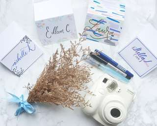 Events Calligraphy Name Place Cards