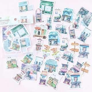 [Mo.Deco] Buildings Stickers