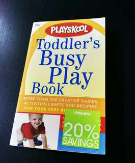 PLAYSKOOL Toddler's Busy Play Book