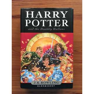 [British] Harry Potter and the Deathly Hallows by JK Rowling