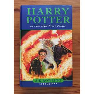 [British] Harry Potter and the Half-Blood Prince by JK Rowling
