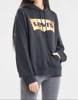 🚚 Levis 帽T LOGO 寬鬆版型 - 女裝