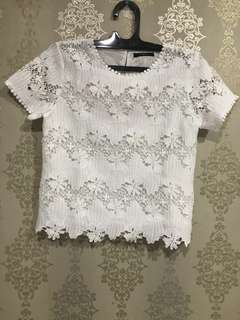 Icons - White Lace Blouse