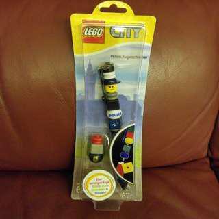 全新Lego police原子筆