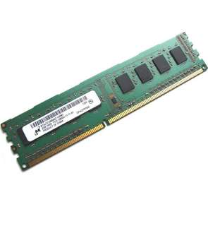 Micron MT8JTF25664AZ-1G6M1 2GB 1Rx8 1.5V 240-Pin DIMM PC3-12800U-11-11-A1 1600MHz DDR3 Desktop PC Memory