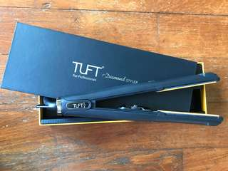 TUFT for Professionals Nano Ceramic Diamond Styler 6600 – 1″ (1 inch) + FREE GIFTS worth more than $40!