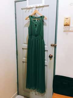 Dinner long dress gown