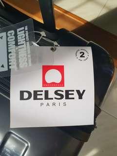 """Delsey Paris - Helium Aero Titanium Luxury Luggage 28"""""""