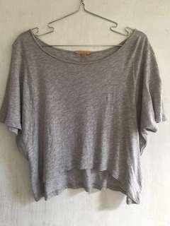Zara off shoulder crop top
