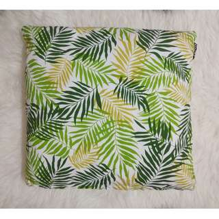 [BN] Boho Palm Leaves Leaf Green Greenery Beach Cushion