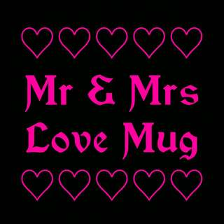 Mr & Mrs Love Mug
