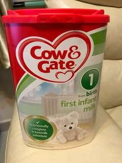 英國牛欄牌奶粉一號