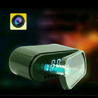 Hidden camera with Alarm clock (support Wi-Fi Network )