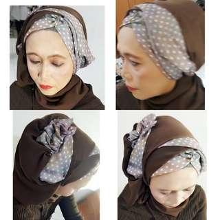 JASA makeup hairdo n hijab