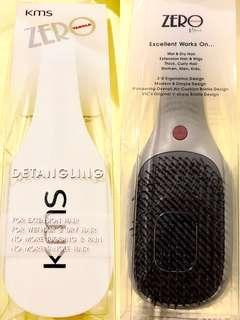 KMS California Zero Tangle Detangling Comb + FREE Gift