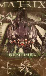 NEW SEALED Matrix Sentinel and Neo Figure Set
