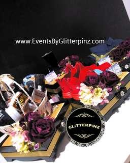 Wedding gift trays /gubahan dulang hantaran