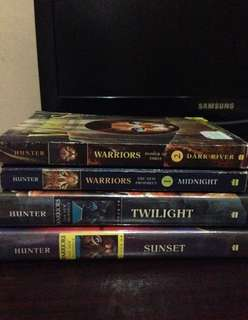 Lot of 4 Warriors Books by Erin Hunter