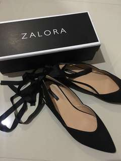 Zalora flatshoes ankle strap