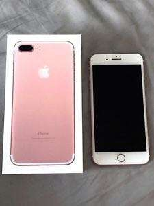 Iphone7 plus 256Gb 玫瑰金