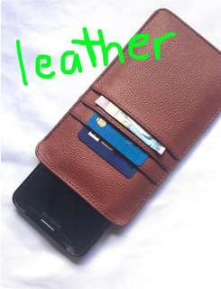 Cellphone and wallet holder