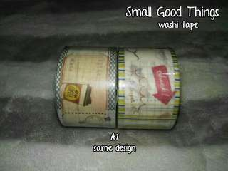 A1 Small Good Things Washi Tape